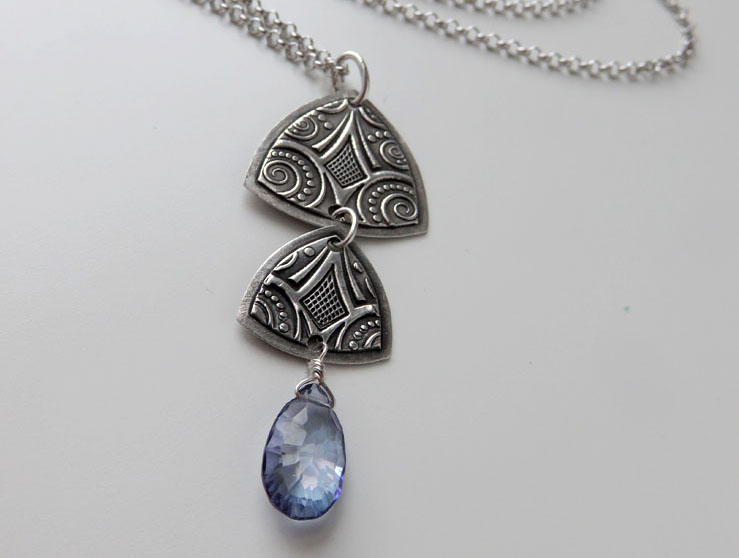 Amara Necklace with Mystic Quartz