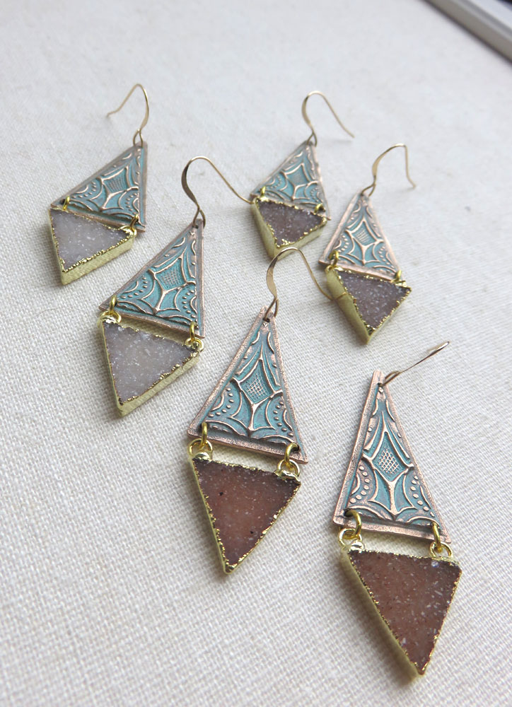 Asteria Earrings - One Left
