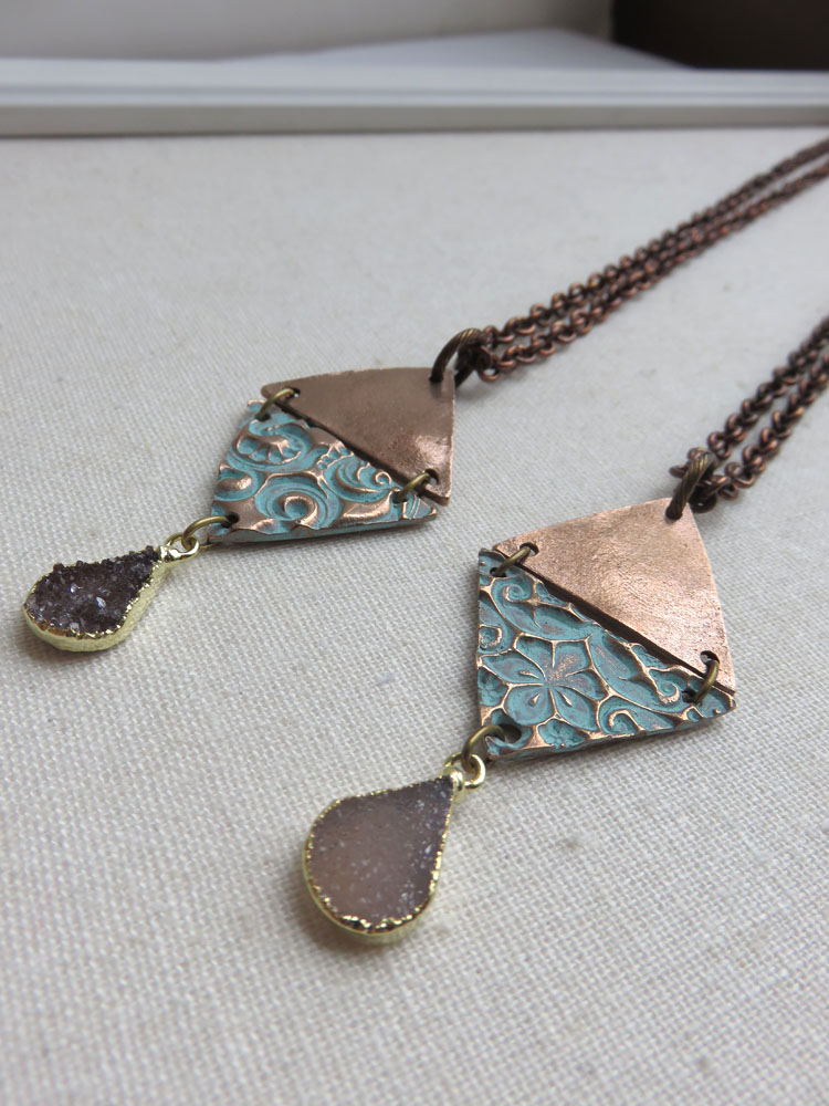 SOLD OUT - Ayra Druzy Necklace