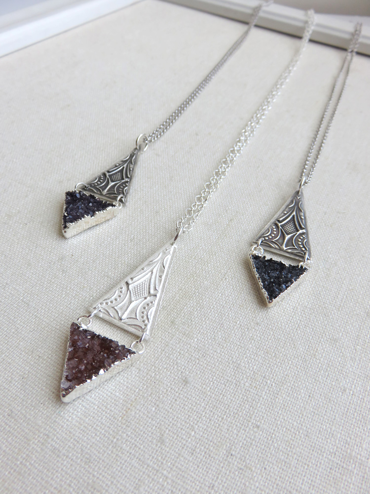 Asteria Necklace in Silver