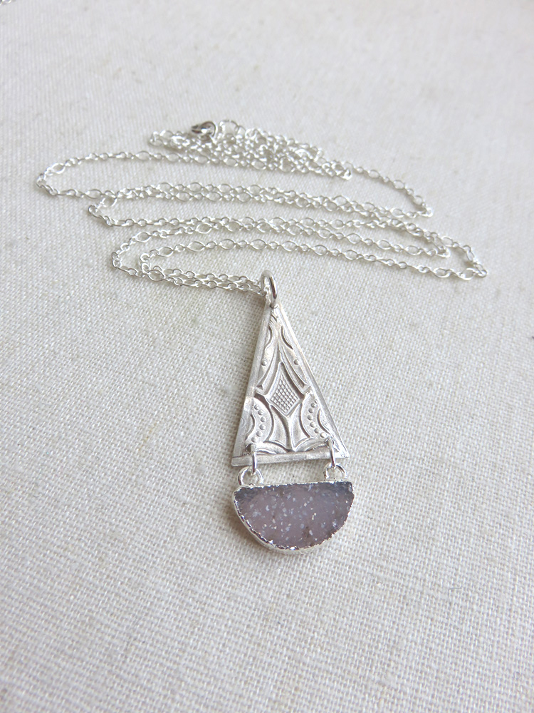 Athena Necklace in Silver