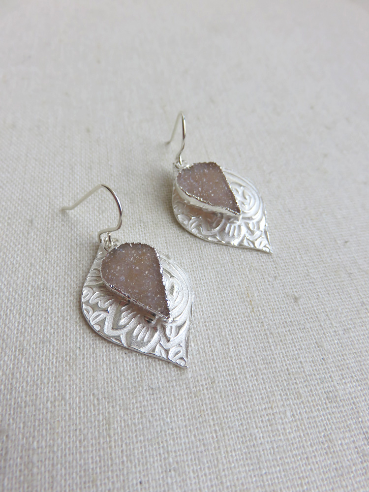 SOLD OUT - Charlotte Earrings in Silver