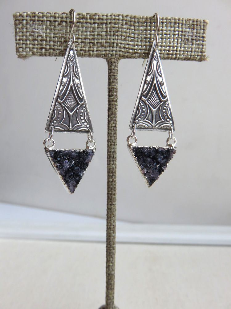 Asteria Earrings in Silver