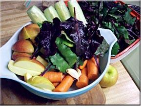 vegetable juices, making vegetable juice, juicing vegetables, canadian juicers,