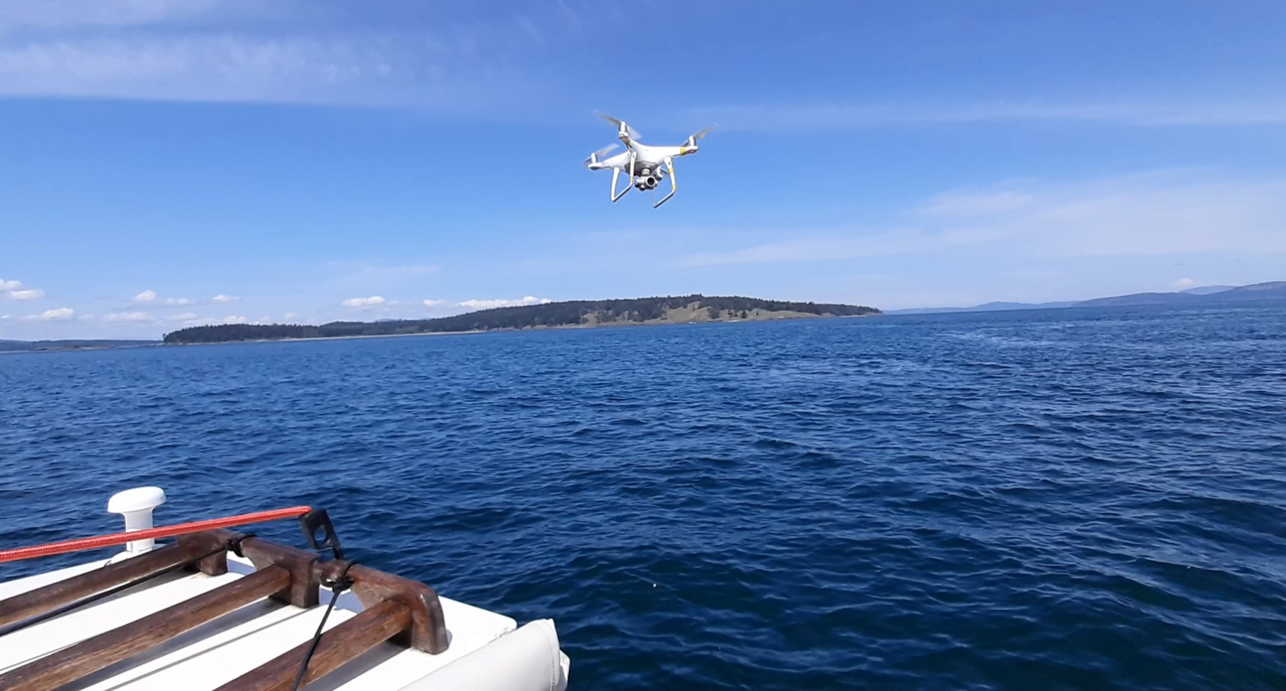 marine drone RPAS shots and videos