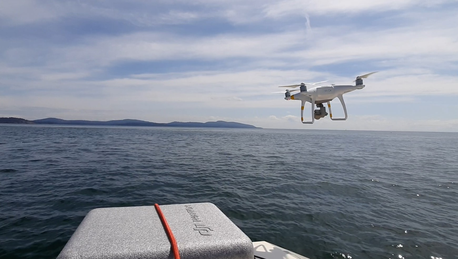 boat drone charters aerial marine shots